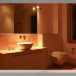 Waschplatz - WC - Kombination
