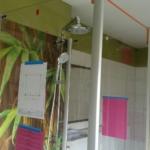 Duschabtrennung montiert