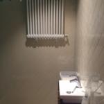 Neues Waschbecken Seitenansicht