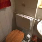 WC Anlage schon fast nostalisch